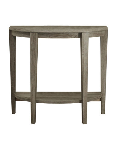 Monarch Half-Moon Hall Console Accent Table-DARK BLUE-One Size