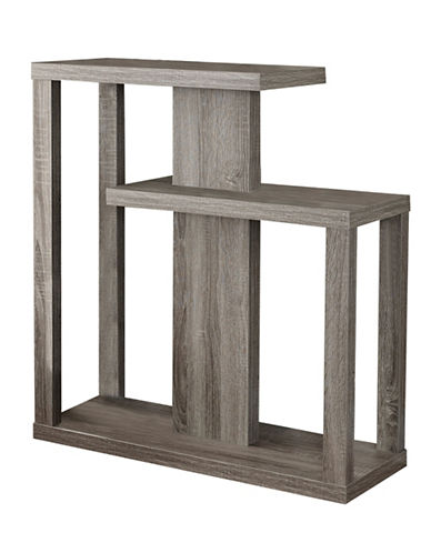 Monarch Open Concept Accent Table-DARK TAUPE-One Size