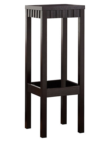Monarch Carved Two-Tier Accent Table-BROWN-One Size