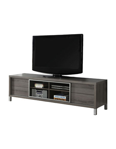 Monarch 70-Inch Euro Style Sliding Door TV Stand-TAUPE-One Size