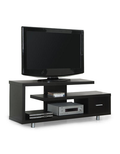 Monarch TV Stand with Drawer-CAPPUCCINO-One Size