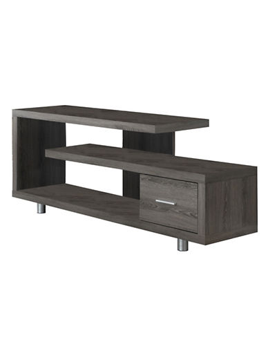 Monarch TV Stand with Drawer-DARK TAUPE-One Size