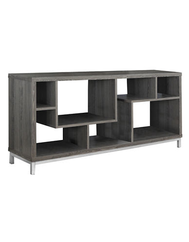 Monarch Asymmetrical TV Stand-TAUPE-One Size