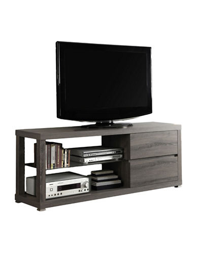 Monarch Two-Drawer TV Stand-TAUPE-One Size