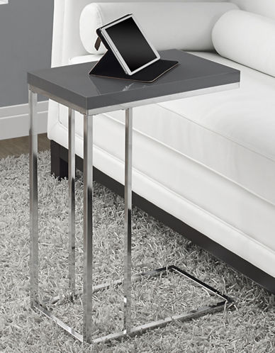 Monarch Rectangular Accent Table-GREY-One Size
