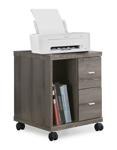 Monarch Office Cabinet on Castors-DARK TAUPE-One Size