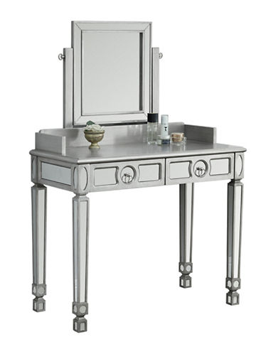 Monarch Brushed Mirror Vanity-SILVER-One Size