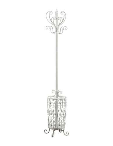 Monarch 72-Inch Metal Coat Rack-WHITE-One Size 88230093_WHITE_One Size