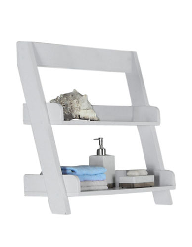 Monarch Wall-Mounted Shelf-WHITE-One Size