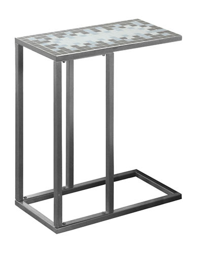 Monarch Tile-Top Multi-Function Accent Table-GREY-One Size