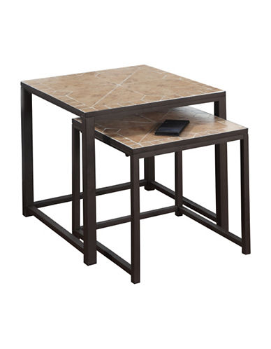 Monarch Terracotta Tile Nesting Tables