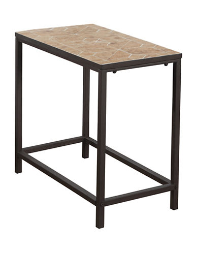 Monarch Terracotta Tile Accent Table-TERRACOTTA-One Size