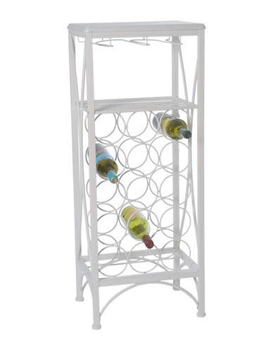 Monarch Metal Home Bar-WHITE-One Size