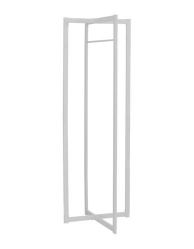 Monarch Rectangular Coat Rack-WHITE-One Size