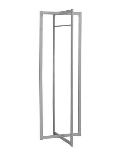 Monarch Rectangular Coat Rack-SILVER-One Size