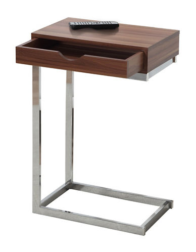 Monarch Accent Table-WALNUT-One Size