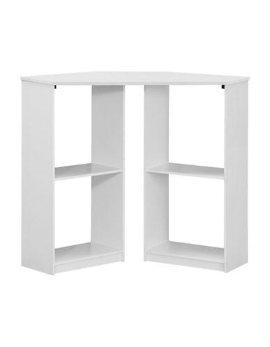 Monarch Juvenile Four-Shelf Computer Desk-WHITE-One Size
