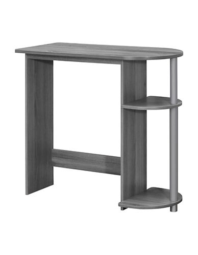 Monarch Juvenile Two-Shelf Computer Desk-GREY-One Size
