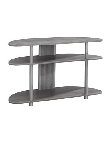 Monarch Corner TV Stand-GREY-One Size