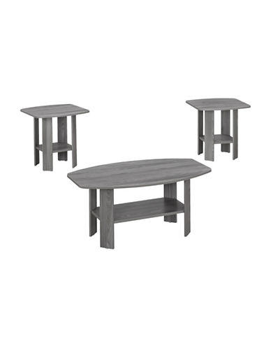 Monarch Table Set-GREY-One Size