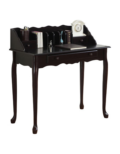 Monarch Solid Wood Desk-DARK CHERRY-One Size