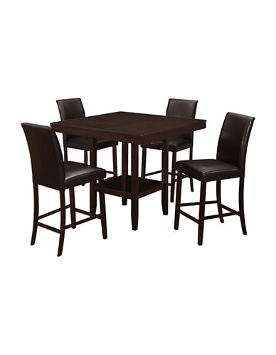 Monarch Counter Height Dining Table-CAPPUCINO-One Size