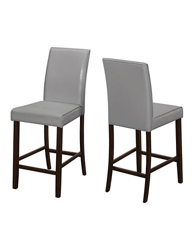 Monarch Two-Piece Dining Chair Set-GREY-One Size