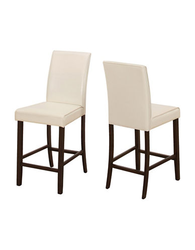 Monarch Two-Piece Dining Chair Set-IVORY-One Size