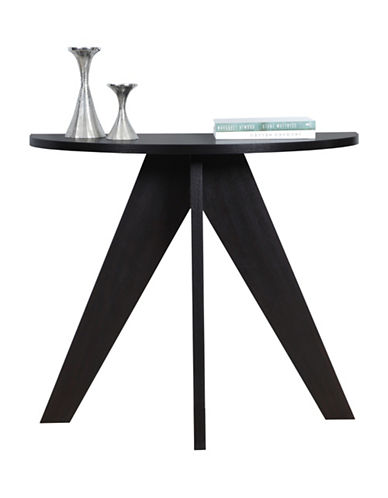 Monarch Tripod Hall Console Accent Table-CAPPUCCINO-One Size