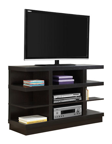 Monarch Open-Concept TV Stand-CAPPUCCINO-One Size