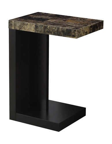Monarch Overhang Accent Table-CAPPUCINO-One Size