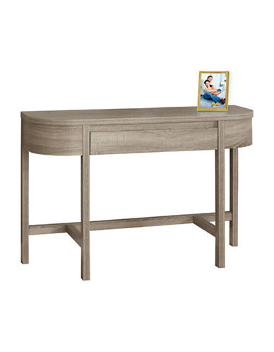 Monarch Reclaimed-Look Accent Table-DARK TAUPE-One Size