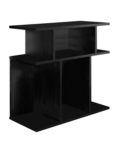 Monarch Open Concept Accent Table-BLACK-One Size