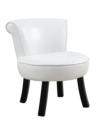 Monarch Tea Time Juvenile Accent Chair-WHITE-One Size