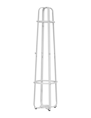 Monarch Cage Coat Rack-WHITE-One Size