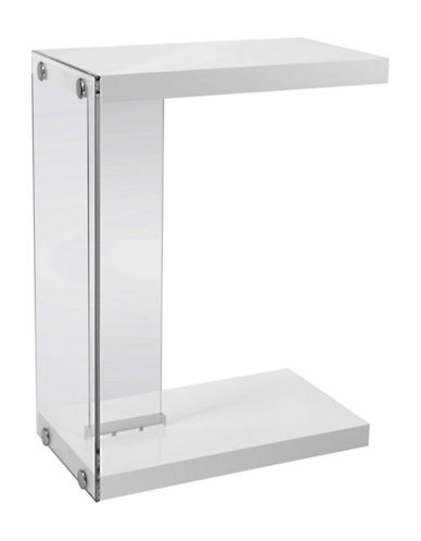Monarch Accent Table-WHITE-One Size