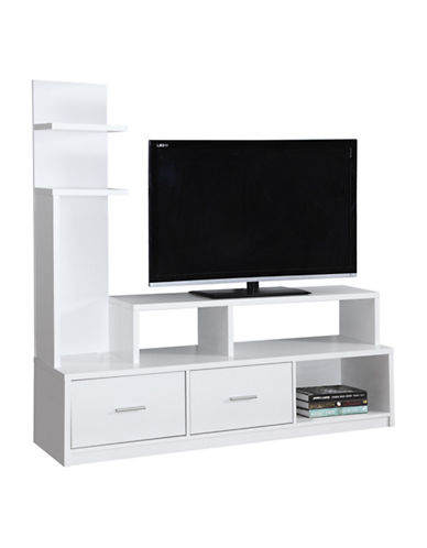 Monarch TV Stand-WHITE-One Size