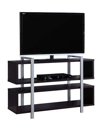 Monarch Bookcase and TV Stand-BROWN-One Size