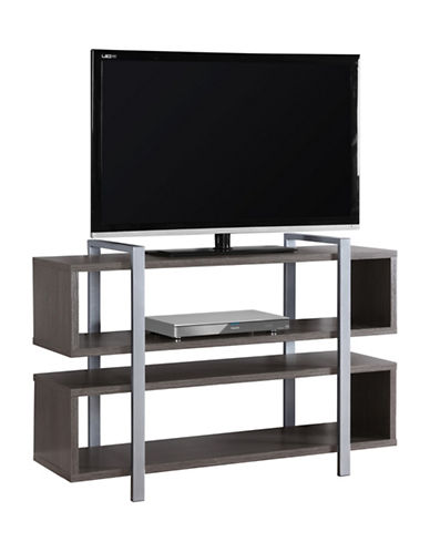 Monarch Bookcase and TV Stand-GREY-One Size