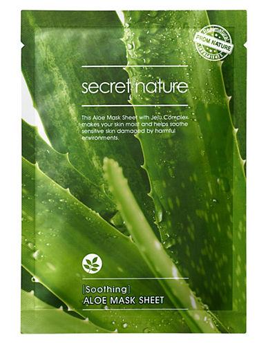 Secret Nature Secret Nature Aloe Mask Sheet-NO COLOR-One Size
