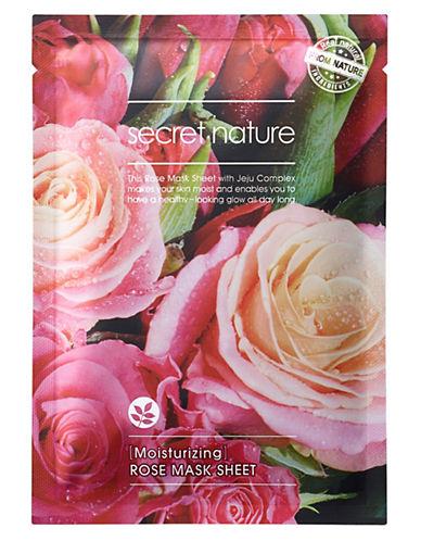 Secret Nature Secret Nature Rose Mask Sheet-NO COLOR-One Size