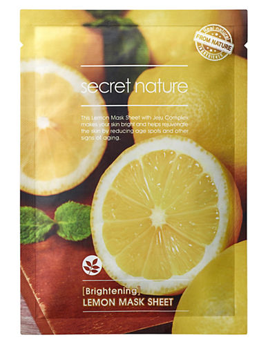 Secret Nature Secret Nature Lemon Mask Sheet-NO COLOR-One Size