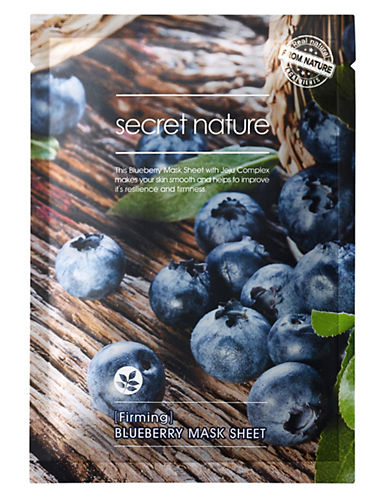 Secret Nature Secret Nature Blueberry Mask Sheet-NO COLOR-One Size