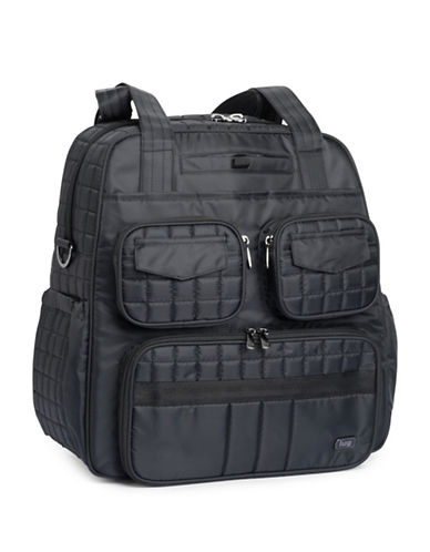Lug Puddle Jumper Bag-BLACK-One Size