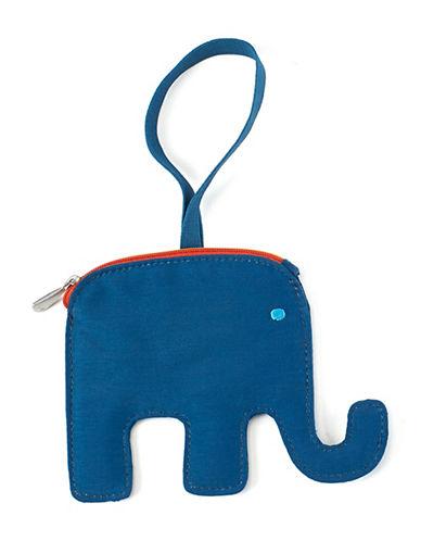 Lug Peekaboo Elephant Bag Tag-TURQUOISE-One Size