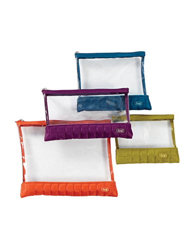 Lug Clearview Four-Piece Envelopes Set-ASSORTED-One Size