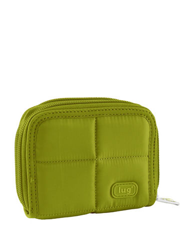 Lug Splits Compact Wallet-GREEN-One Size
