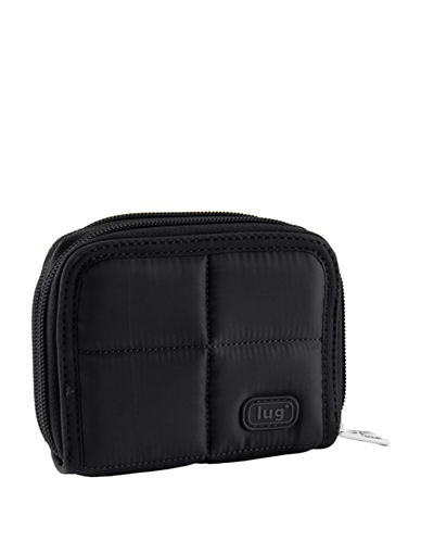 Lug Splits Compact Wallet-BLACK-One Size