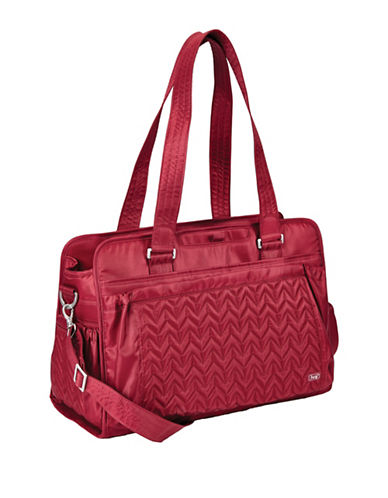 Lug Caboose Carry All Baby Bag-CRANBERRY RED-One Size