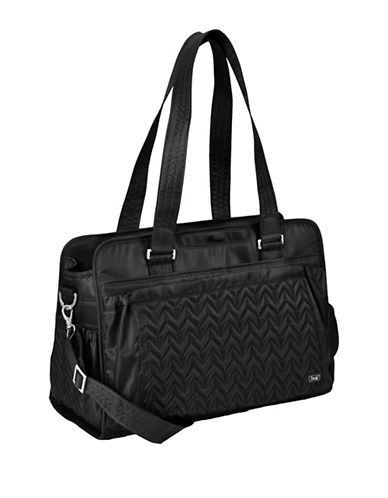 Lug Caboose Carry All Baby Bag-MIDNIGHT BLACK-One Size